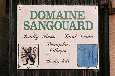 Domaine Sangouard Sign in Leynes