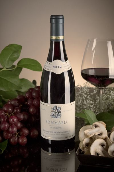 French Red Burgundy Wine, Domaine Philippe Girard 2012 Pommard La Combotte