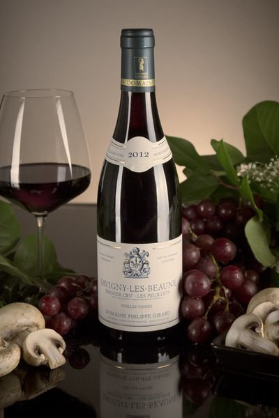 French Red Burgundy Wine, Domaine Philippe Girard 2012 Savigny-les-Beaune Premier Cru Les Peuillets
