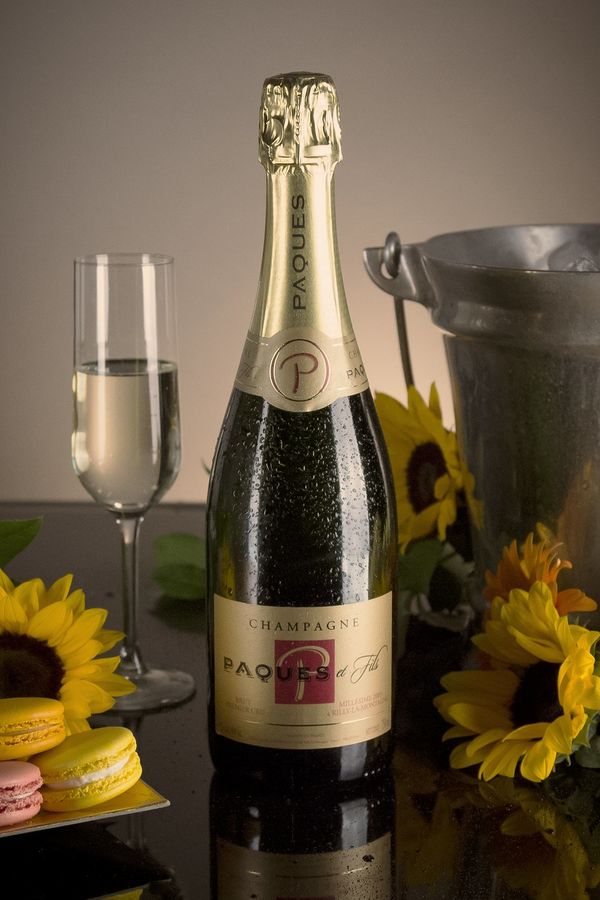 French Champagne, Champagne Paques et Fils 2009 Champagne Carte Rouge