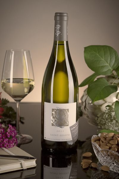 French White Rhone Wine, Domaine Christophe Pichon 2012 Saint-Joseph