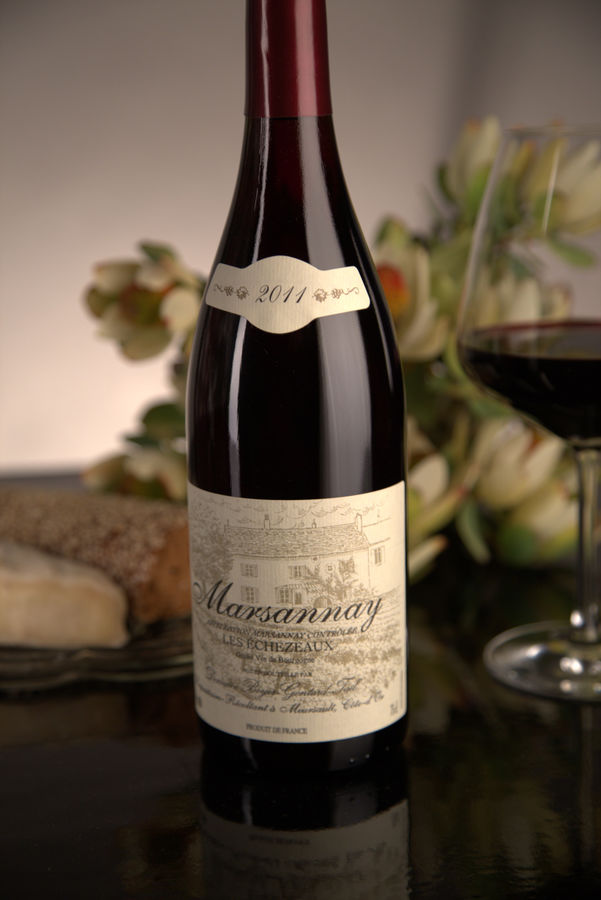 French Red Burgundy Wine, Domaine Boyer-Gontard 2011 Marsannay Les Echezeaux