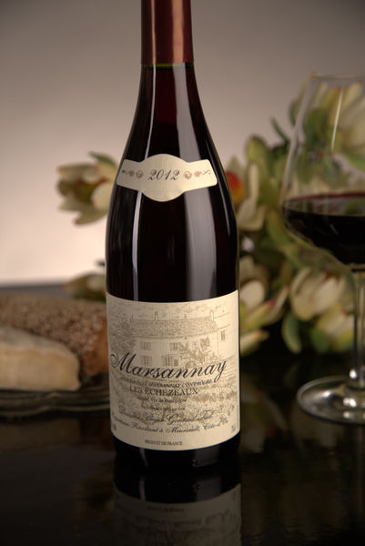 French Red Burgundy Wine, Domaine Boyer-Gontard 2012 Marsannay Les Echezeaux