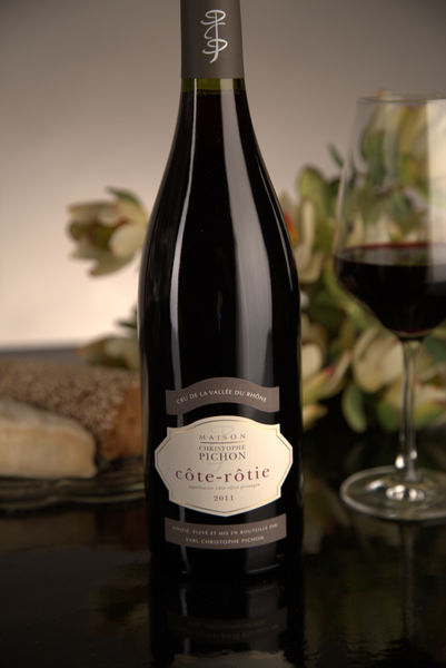 French Red Rhone Wine, Domaine Christophe Pichon 2011 Côte-Rôtie