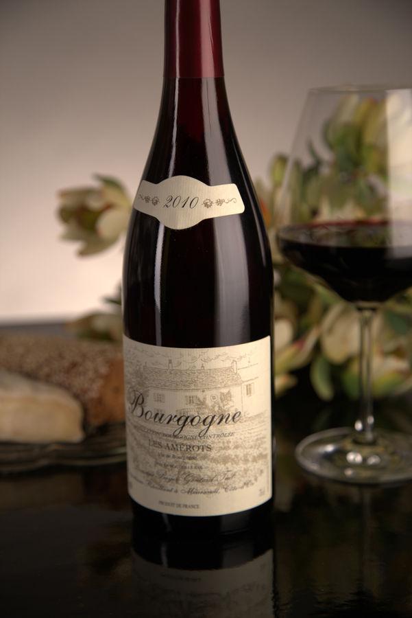 French Red Burgundy Wine, Domaine Boyer-Gontard 2010 Bourgogne Les Amerots