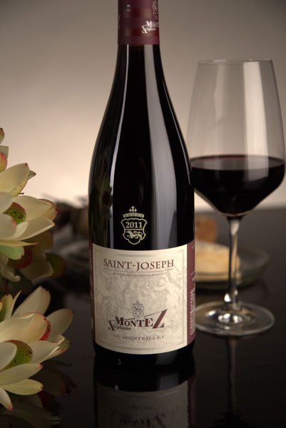 French Red Rhone Wine, Domaine du Monteillet 2011 Saint-Joseph