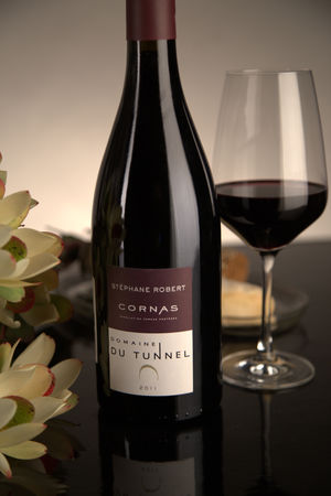 French Red Rhone Wine, Domaine du Tunnel 2011 Cornas