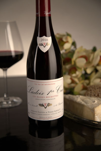 French Red Burgundy Wine, Domaine Gaston & Pierre Ravaut 2010 Ladoix Premier Cru Les Basses Mourottes