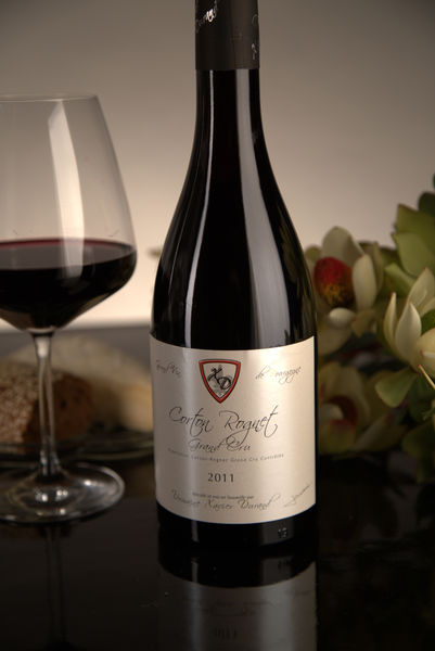 French Red Burgundy Wine, Domaine Xavier Durand 2011 Corton Rognet