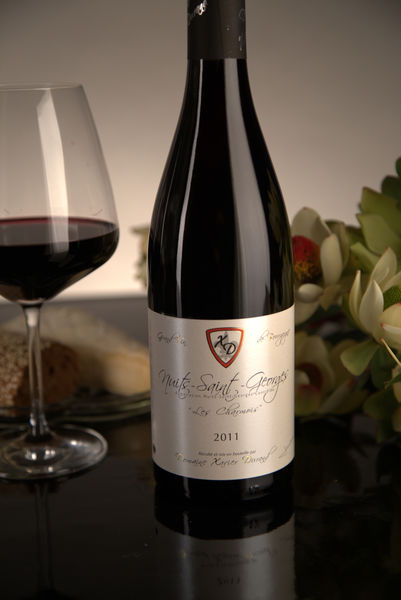 French Red Burgundy Wine, Domaine Xavier Durand 2011 Nuits-Saint-Georges Les Charmois