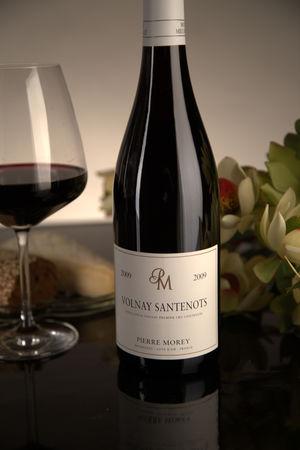 French Red Burgundy Wine, Domaine Pierre Morey 2009 Volnay Premier Cru Santenots