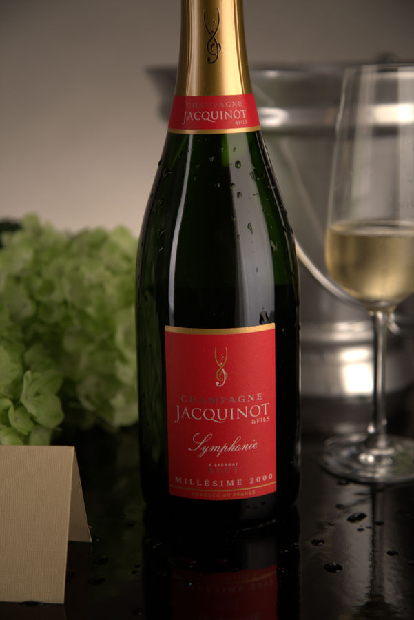 French Champagne, Champagne Jacquinot & Fils 2000 Champagne Symphonie Brut
