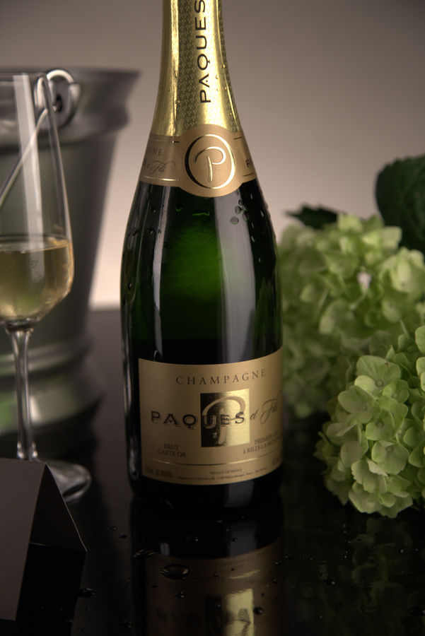 French Champagne, Champagne Paques et Fils Champagne Carte Or