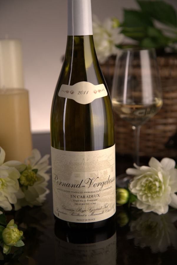 French White Burgundy Wine, Domaine Boyer-Gontard 2011 Pernand-Vergelesses En Caradeux