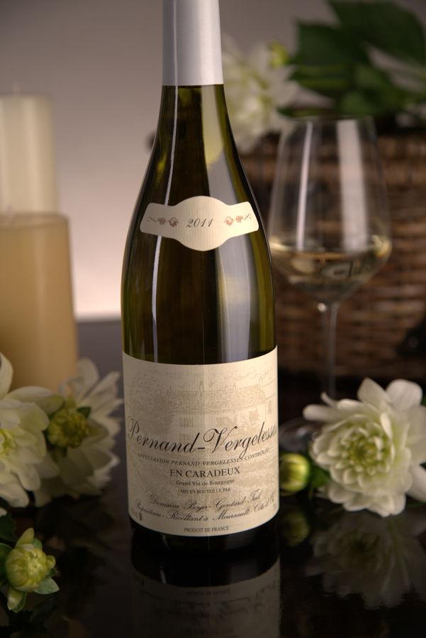 French White Burgundy Wine, Domaine Boyer-Gontard 2011 Pernand-Vergelesses En Caradeux