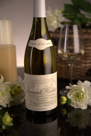 French White Burgundy Wine, Domaine Boyer-Gontard 2011 Meursault Premier Cru Perrieres