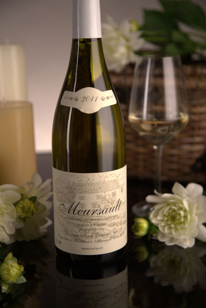 French White Burgundy Wine, Domaine Boyer-Gontard 2011 Meursault