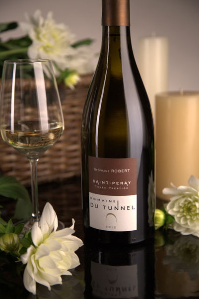 French White Rhone Wine, Domaine du Tunnel 2012 Saint-Péray Cuvée Prestige