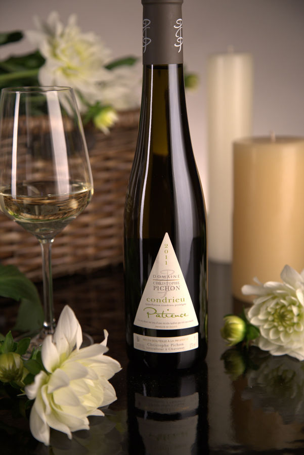French White Rhone Wine, Domaine Christophe Pichon 2011 Condrieu Patience