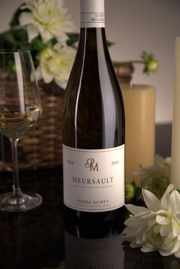 French White Burgundy Wine, Domaine Pierre Morey 2010 Meursault