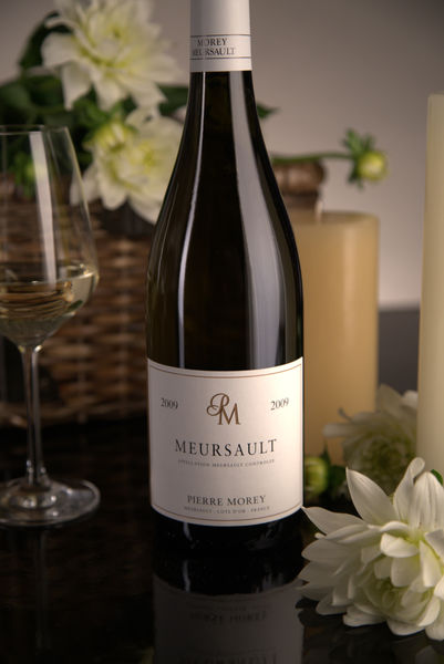 French White Burgundy Wine, Domaine Pierre Morey 2009 Meursault