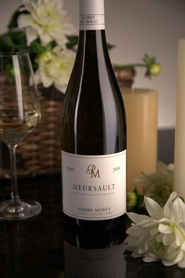 French White Burgundy Wine, Domaine Pierre Morey 2009 Meursault