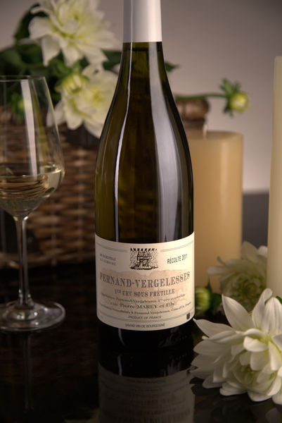 French White Burgundy Wine, Domaine Pierre Marey et Fils 2011 Pernand-Vergelesses Premier Cru Sous Frétille