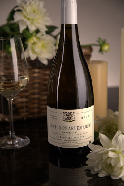 French White Burgundy Wine, Domaine Pierre Marey et Fils 2011 Corton-Charlemagne