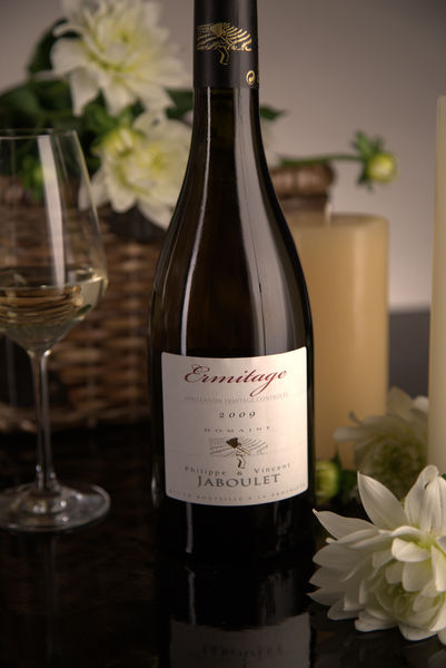 French White Rhone Wine, Domaine Philippe & Vincent Jaboulet 2009 Ermitage