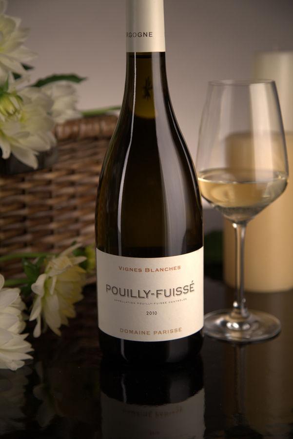 French White Burgundy Wine, Domaine Thibert Père et Fils 2010 Pouilly-Fuissé Vignes Blanches