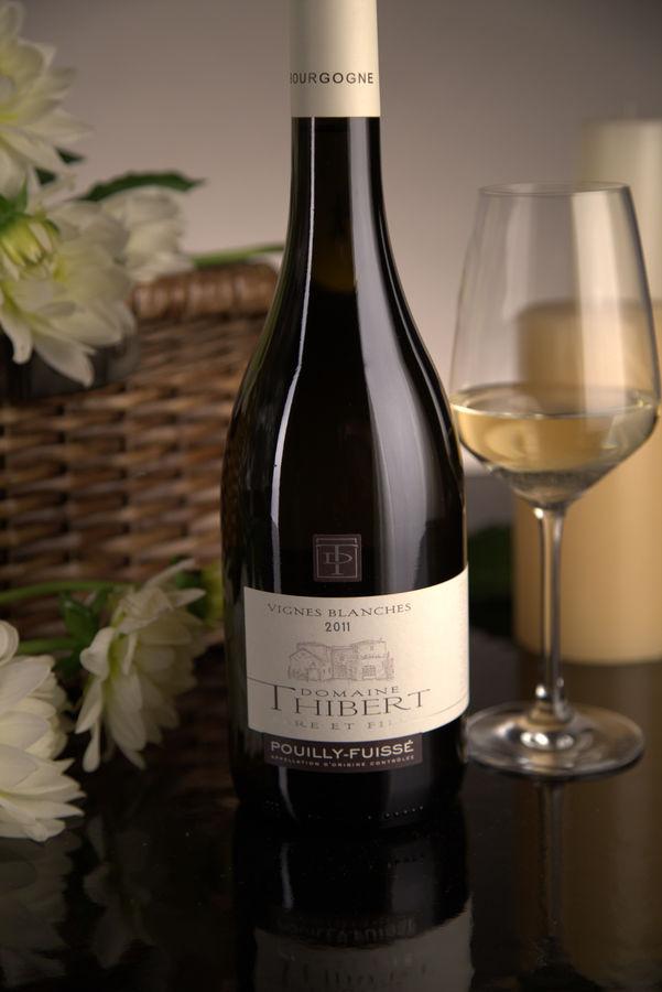 French White Burgundy Wine, Domaine Thibert Père et Fils 2011 Pouilly-Fuissé Vignes Blanches