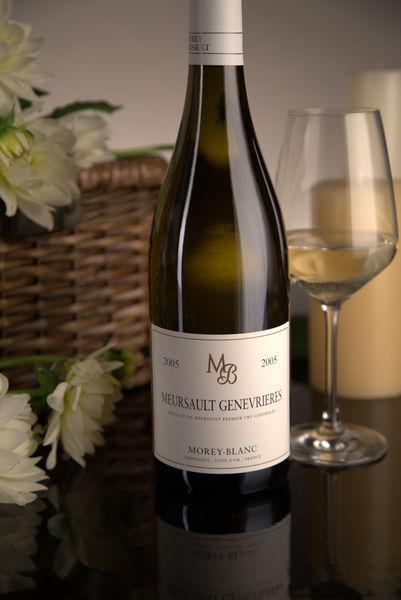 French White Burgundy Wine, Maison Morey-Blanc 2005 Meursault Premier Cru Genevrieres