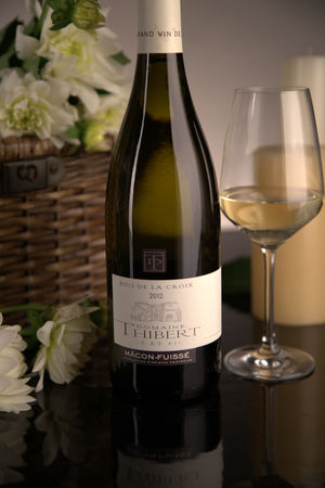 French White Burgundy Wine, Domaine Thibert Père et Fils 2012 Macon-Fuissé Bois de la Croix