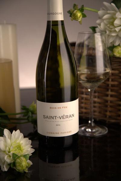 French White Burgundy Wine, Domaine Thibert Père et Fils 2010 Saint-Véran Bois de Fée