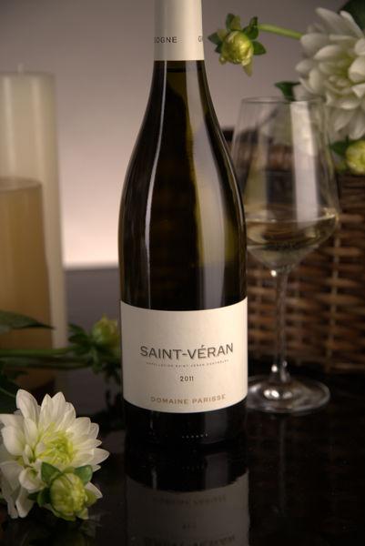 French White Burgundy Wine, Domaine Thibert Père et Fils 2011 Saint-Véran