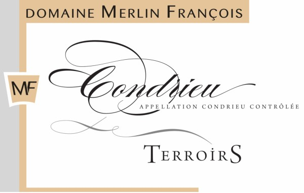 French White Rhone Wine, Domaine François Merlin 2012 Condrieu Terroirs