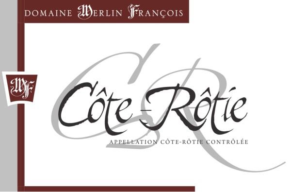 French Red Rhone Wine, Domaine François Merlin 2012 Côte-Rôtie