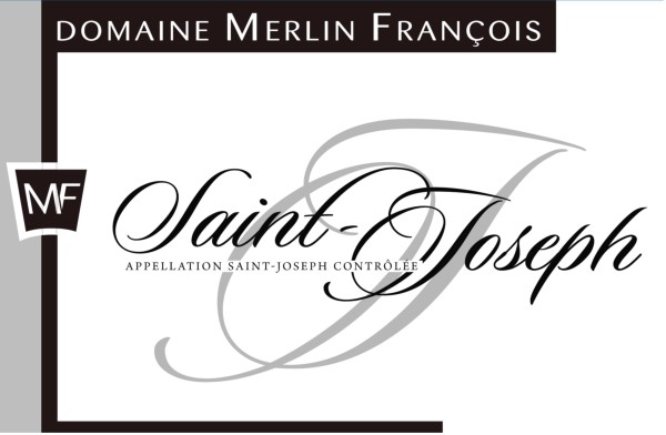French Red Rhone Wine, Domaine François Merlin 2011 Saint-Joseph
