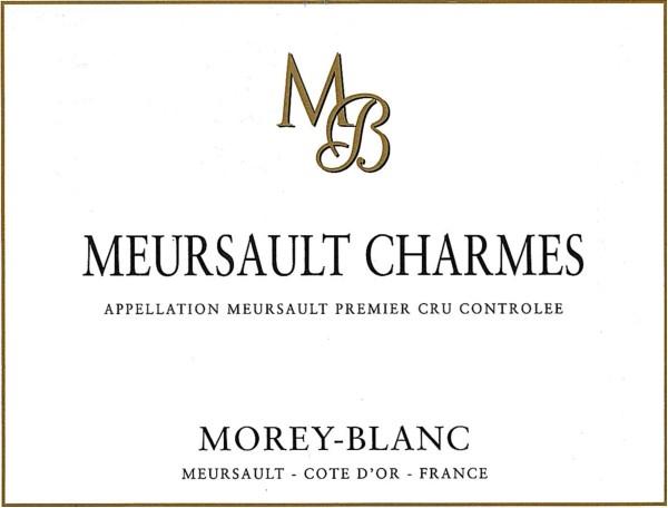French White Burgundy Wine, Maison Morey-Blanc 2009 Meursault Premier Cru Charmes