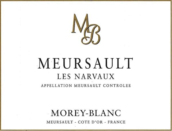 French White Burgundy Wine, Maison Morey-Blanc 2009 Meursault Les Narvaux