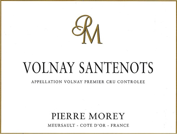 French Red Burgundy Wine, Domaine Pierre Morey 2009 Volnay Premier Cru Santenots