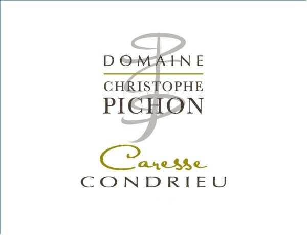 French White Rhone Wine, Domaine Christophe Pichon 2010 Condrieu Caresse