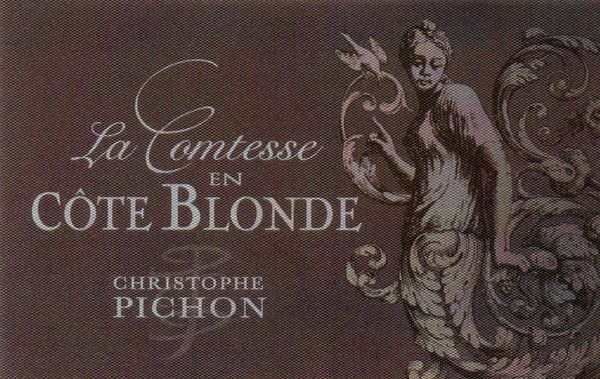 French Red Rhone Wine, Domaine Christophe Pichon 2012 Côte-Rôtie La Comtesse en Côte Blonde
