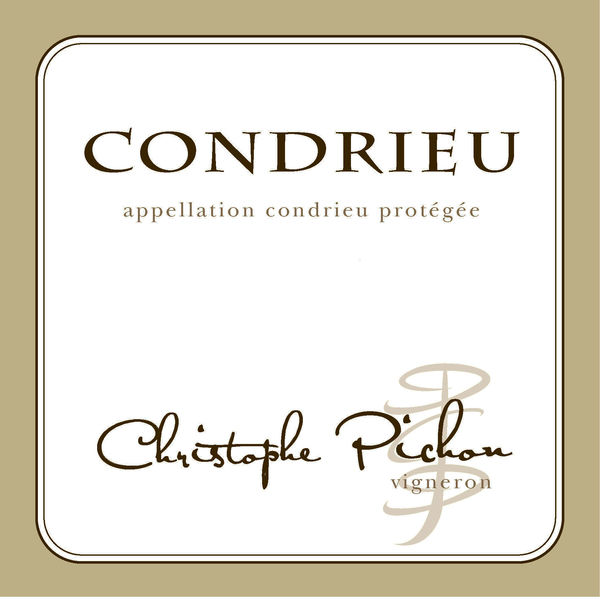 French White Rhone Wine, Domaine Christophe Pichon 2010 Condrieu