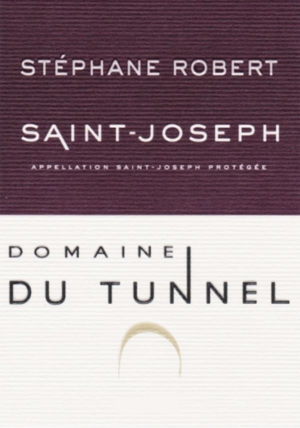 French Red Rhone Wine, Domaine du Tunnel 2011 Saint-Joseph