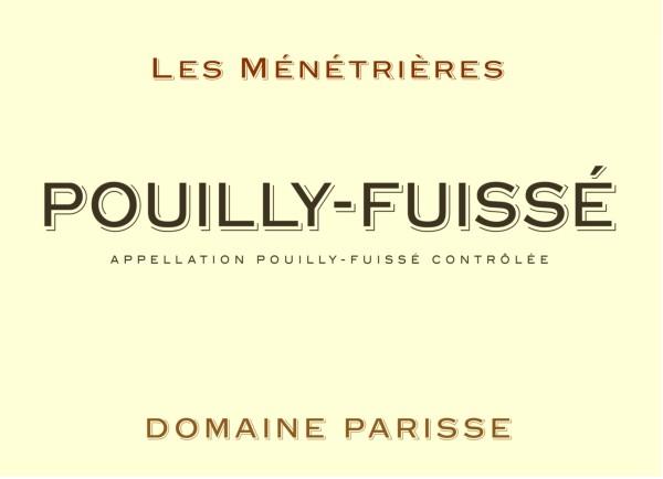 French White Burgundy Wine, Domaine Thibert Père et Fils 2010 Pouilly-Fuissé Les Ménétrières