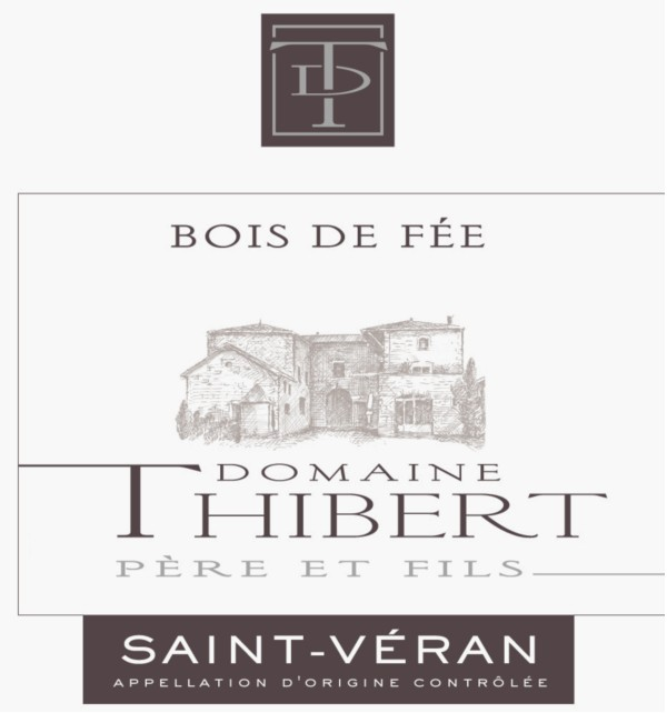 French White Burgundy Wine, Domaine Thibert Père et Fils 2011 Saint-Véran Bois de Fée