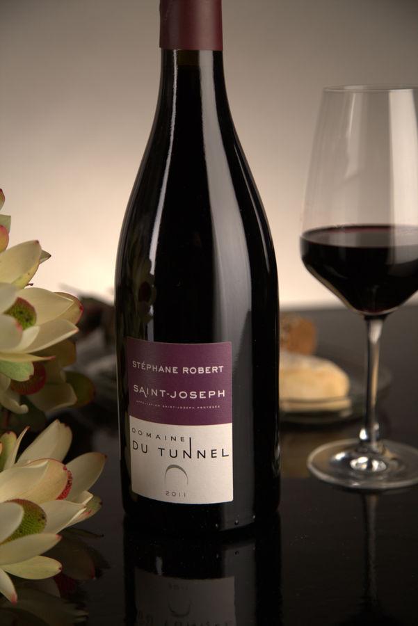 French Red Rhone Wine, Domaine du Tunnel 2011 Saint-Joseph