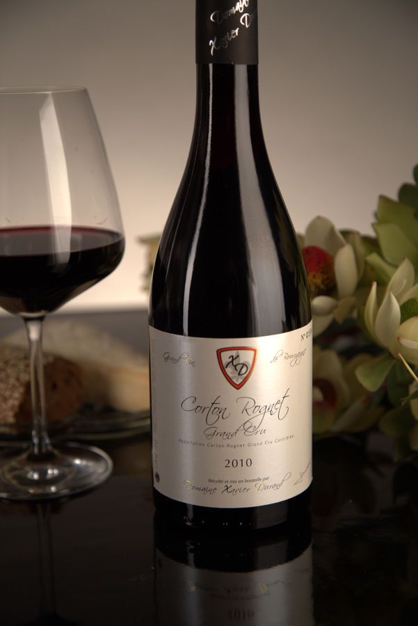 French Red Burgundy Wine, Domaine Xavier Durand 2010 Corton Rognet