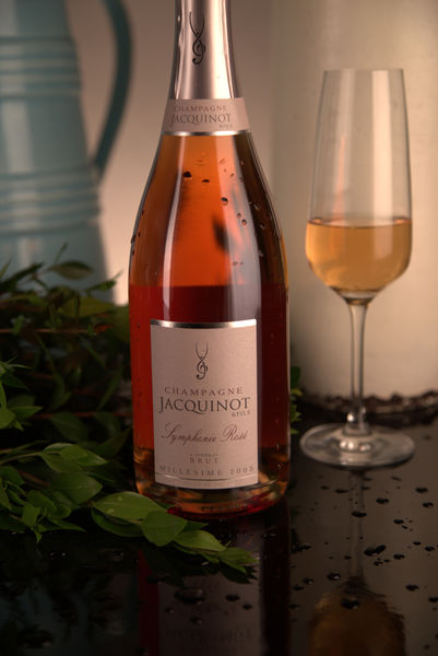 French Champagne, Champagne Jacquinot & Fils 2005 Champagne Symphonie Rosé